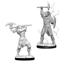 Dungeons and Dragons Nolzur's Marvelous Minis Female Goliath Barbarian