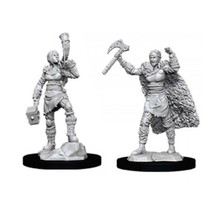 Dungeons and Dragons Nolzur's Marvelous Minis Female Human Barbarian