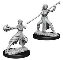 Dungeons and Dragons Nolzur's Marvelous Minis Female Half-Elf Monk