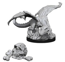 Dungeons and Dragons Nolzur's Marvelous Minis Black Dragon Wyrmling