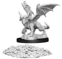 Dungeons and Dragons Nolzur's Marvelous Minis Blue Dragon Wyrmling