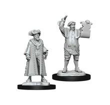Dungeons and Dragons Nolzur's Marvelous Minis Mayor and Town Crier