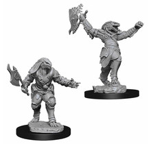 Dungeons and Dragons Nolzur's Marvelous Minis Female Dragonborn Fighter