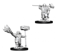 Dungeons and Dragons Nolzur's Marvelous Minis Male Dwarf Cleric