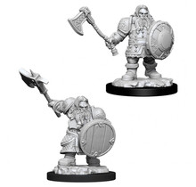 Dungeons and Dragons Nolzur's Marvelous Minis Male Dwarf Fighter