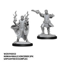 Dungeons and Dragons Nolzur's Marvelous Minis Male Human Sorceror