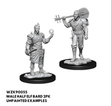 Dungeons and Dragons Nolzur's Marvelous Minis Male Half-Elf Bard