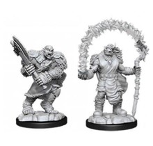 Dungeons and Dragons Nolzur's Marvelous Minis Orc Adventurers