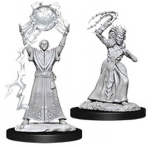 Dungeons and Dragons Nolzur's Marvelous Minis Drow Mage and Drow Priestess