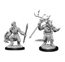 Dungeons and Dragons Nolzur's Marvelous Minis Lizardfolk and Lizardfolk Shaman