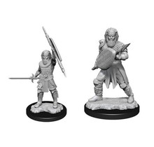 Dungeons and Dragons Nolzur's Marvelous Minis Human Fighter Male
