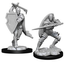 Dungeons and Dragons Nolzur's Marvelous Minis Warforged Fighter Male