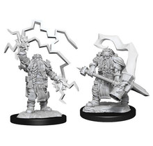 Dungeons and Dragons Nolzur's Marvelous Minis Dwarf Cleric Male