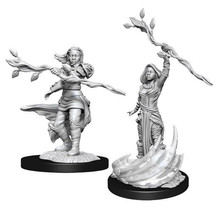 Dungeons and Dragons Nolzur's Marvelous Minis Human Druid Female