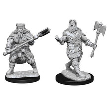 Dungeons and Dragons Nolzur's Marvelous Minis Human Barbarian Male