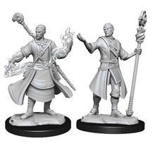 Dungeons and Dragons Nolzur's Marvelous Minis Half-Elf Wizard Male