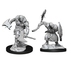 Dungeons and Dragons Nolzur's Marvelous Minis Warforged Barbarian