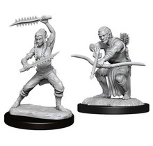 Dungeons and Dragons Nolzur's Marvelous Minis Shifter Wildhunt Ranger Male