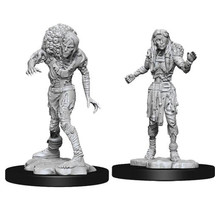 Dungeons and Dragons Nolzur's Marvelous Minis Drowned Assassin & Drowned Ascetic