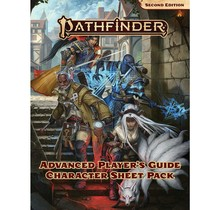 Pathfinder 2E Character Sheet Pack Advanced Player's Guide