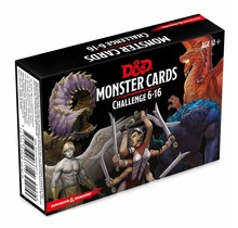 Dungeons and Dragons Volo's Guide to Monsters Dungeons and Dragons Monster Cards