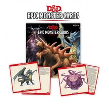 Dungeons and Dragons Epic Monsters Dungeons and Dragons Monster Cards