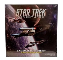 Star Trek Adventures Game Master GM Toolkit, Screen and Reference Sheets