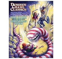 Dungeon Crawl Classics 2020 Holiday Module Doom That Came to Christmas Town