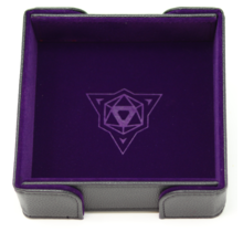 Die Hard Magnetic Square Tray with Purple Velvet