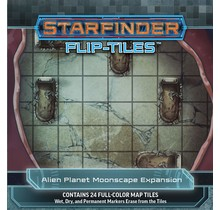 Starfinder Flip Tiles Alien Planet Moonscape Expansion