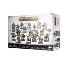 Warhammer Age of Sigmar Soulblight Gravelords Deathrattle Skeletons