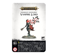 Warhammer Age of Sigmar Soulblight Gravelords Vampire Lord