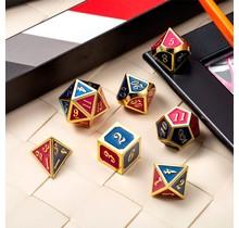 Dice Habit Napoleon Metal Polyhedral Set
