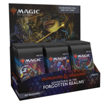 Magic the Gathering Adventures in the Forgotten Realms AFR Set Booster Box