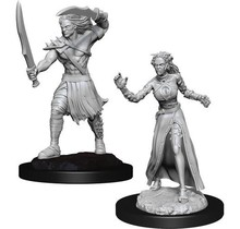Magic the Gathering Unpainted Minis Vampire Lacerator and Vampire Hexmage