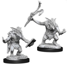 Magic the Gathering Unpainted Minis Goblin Guide and Goblin Bushwhacker