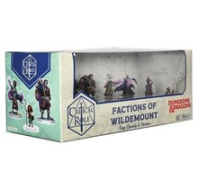Critical Role Minis Factions of Wildemount Clovis Concord and Menagerie Coast Box Set