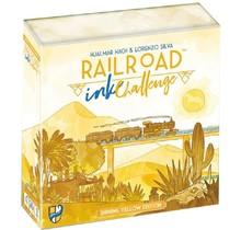 Railroad Ink Challenge Shining Yellow Edition