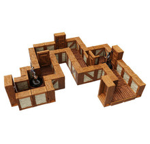 Warlock Tiles Town and Village - Straight Walls