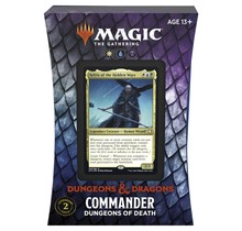 Magic the Gathering Adventures in the Forgotten Realms AFR Commander Deck Dungeons of Death