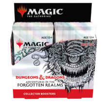 Magic the Gathering AFR Adventures in the Forgotten Realms Collector Booster Box