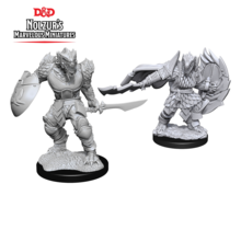 Dungeons and Dragons Nolzur's Marvelous Minis Dragonborn Fighter Male