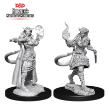 Dungeons and Dragons Nolzur's Marvelous Minis Tiefling Sorcerer Female