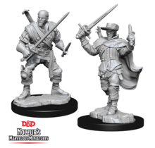 Dungeons and Dragons Nolzur's Marvelous Minis Human Bard Male