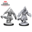 WizKids Dungeons and Dragons Nolzur's Marvelous Minis Lizardfolk Barbarian and Lizardfolk Cleric