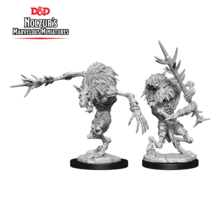 Dungeons and Dragons Nolzur's Marvelous Minis Gnoll Witherlings