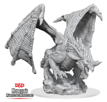 Dungeons and Dragons Nolzur's Marvelous Minis Young Blue Dragon