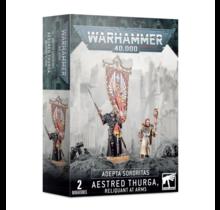Warhammer 40k Imperium Adepta Sororitas Aestred Thurga Reliquant at Arms