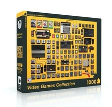 1000 pc Puzzle Jim Golden Video Game