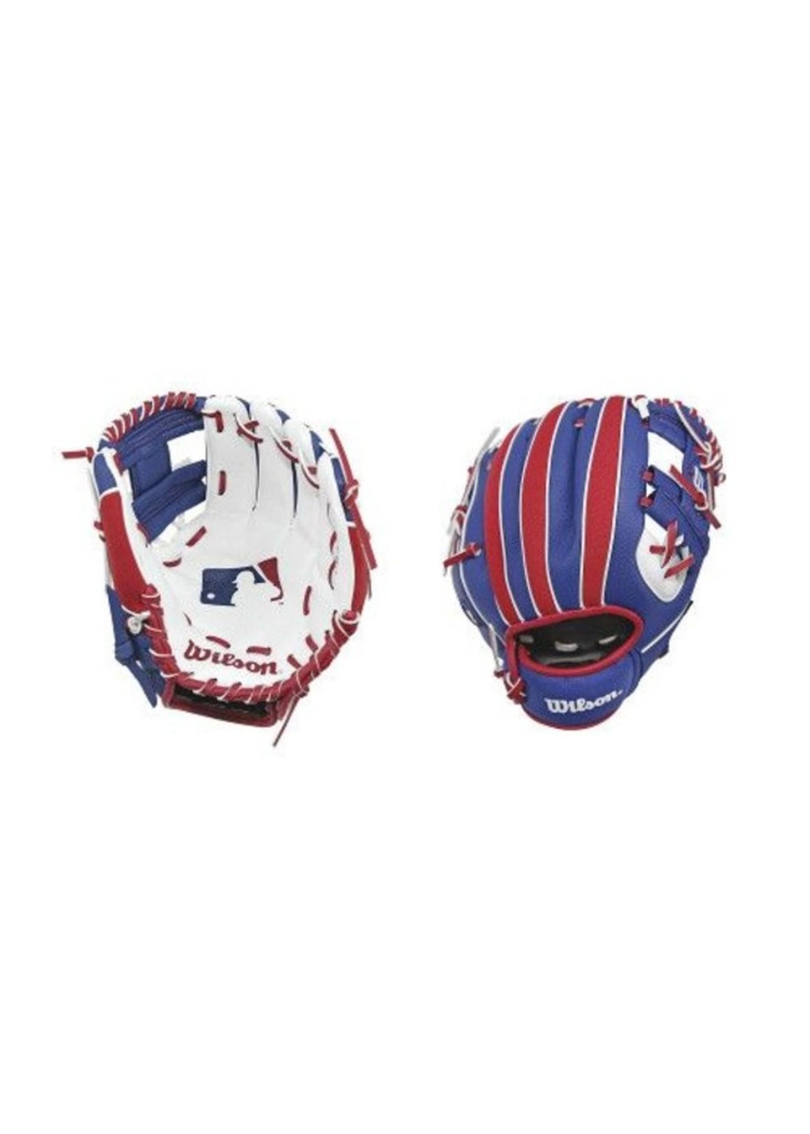 WILSON A200 T-BALL MLB LOGO 10'' YTH GLOVE